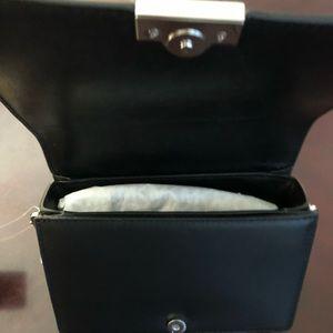 MICHAEL Michael Kors Bags - Michael Kors JADE Black MD Gusset Clutch Leather